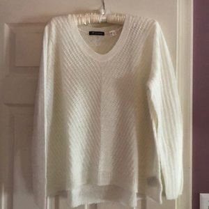 New Balance cream sweater